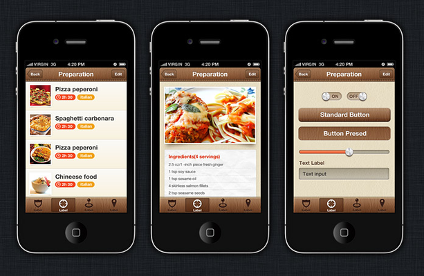 Brown Leather Theme / Components / Xamarin