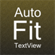 Auto-fit Text View